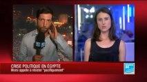 L'armée égyptienne détient Mohamed Morsi et promet une élection présidentielle