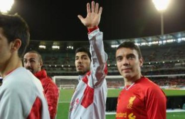 Audio: Angry Liverpool fans tell Suarez to clear off!