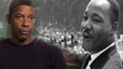 Denzel Washington as Martin Luther King Jr