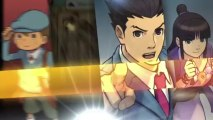 Nintendo 3DS - Professor Layton vs. Phoenix Wright : Ace Attorney Trailer