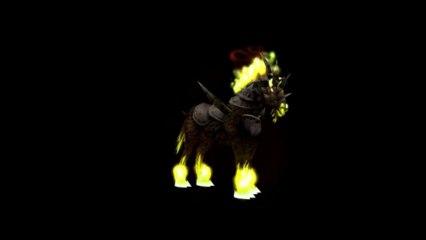 Warlock Fel Mounts - Fel Deeadsteed and Felstead