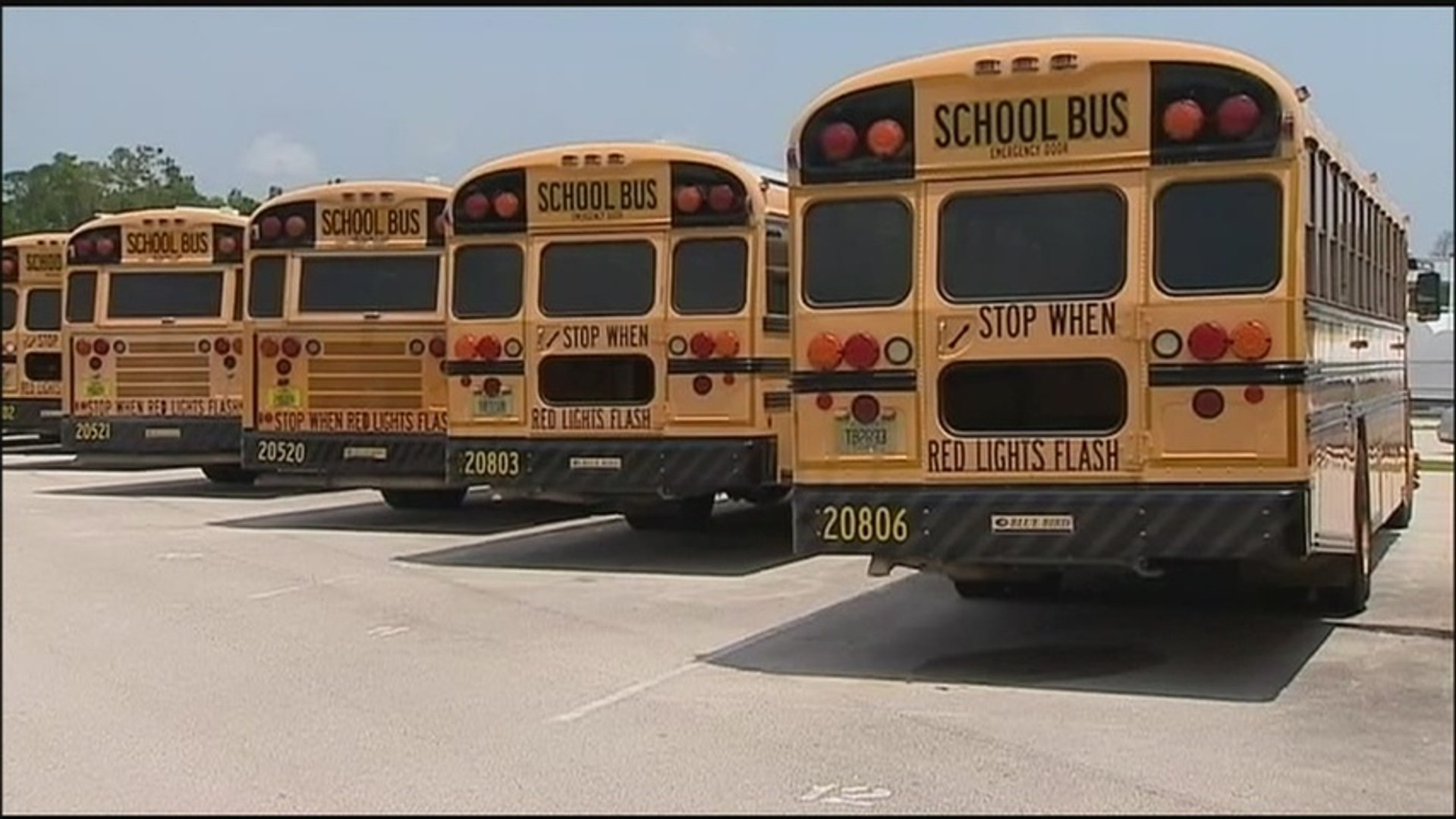 Search on for thieves who drove off with school buses