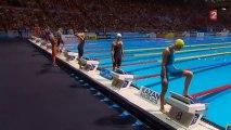 Finale 50m brasse (F) - ChM 2013 natation