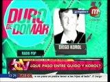 Diego Korol vs. Guido Kaczka en los Martín Fierro
