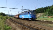 Lokomotiva 122 011-0 a 363 519-0 - Ústí nad Orlicí, 7.8.2013 HD