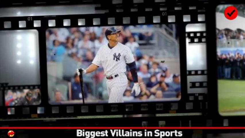 Checklist: Top Sports Villains