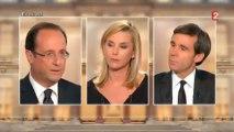 François Hollande : «Il convient de les retirer, les troupes combattantes, fin 2012»