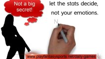 Secrets Of Daily Fantasy Sports - Many of the secrets of Daily Fantasy Sports are not really secrets. Most advisors will actually tell you to learn the rules and let the stats decide.
