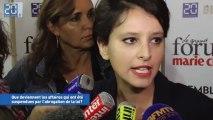 Najat Vallaud-Belkacem ministre Droits femmes nouvelle loi harcèlement sexuel