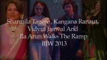 Kangana Ranaut, Vidyut Jamwal, Sharmila Tagore - IIJW 2013 Day 4