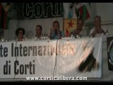 François SARGENTINI - CORSICA LIBERA - Débat sur la Réforme Institutionnelle de la Corse #Ghjurnate2013