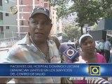 Pacientes del hospital Domingo Luciani denuncia falta de insumos y equipos para realizar exámenes