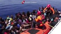 Nouvelles arrivées d'immigrés clandestins en Sicile