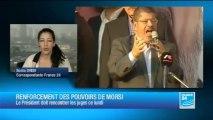 Mohamed Morsi tente de désamorcer la crise avec les magistrats