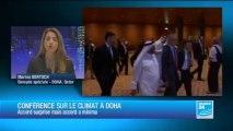Réchauffement climatique : un accord à l'arrachée à Doha