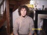 Clément Legrand, frère de Pierre Legrand, s'adresse aux ravisseurs de son frère, otage au Sahel depuis septembre 2010.