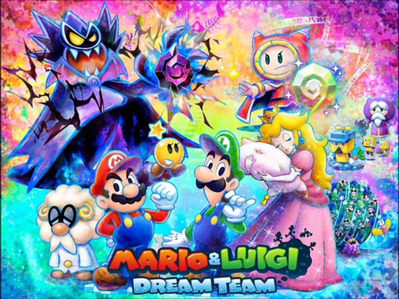 mario and luigi dream team 3ds xl