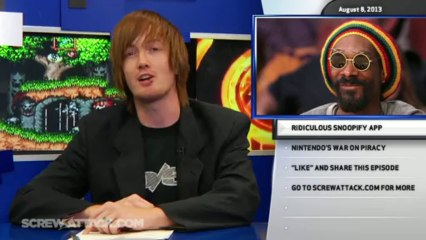 Hard News 08/08/13 - Xbox One Unboxing, Ridiculous Snoopify App, and Nintendo's War on Piracy - Hard News Clip