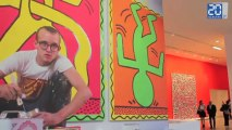 Keith Haring, l'expo «The Political Line»
