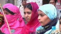Révolte des ouvriers du secteur textile à Dacca