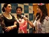 Krrish 3 actress Kangana Ranaut with Vidyut Jamwal, Sonal Chauhan, Karisma Kapoor, Sharmila Tagore, Ila Arun at IIJW