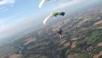 PARACHUTISME - CHAMPIONNATS DE FRANCE VICHY 2013 - VC2 « Anger Saumur Tours Pays de la Loire Saut2 »- 8aout13