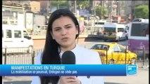 Turquie : Erdogan qualifie les manifestants de «groupes marginaux»
