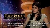 Interview Alexandra Daddario - Percy Jackson : La Mer des Monstres