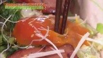 炙りチャーシューのキャベツご飯をもぐもぐ