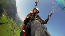 Parapente dans les pyrénées - Paragliding