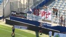 Les supporters nancéiens à Bastia