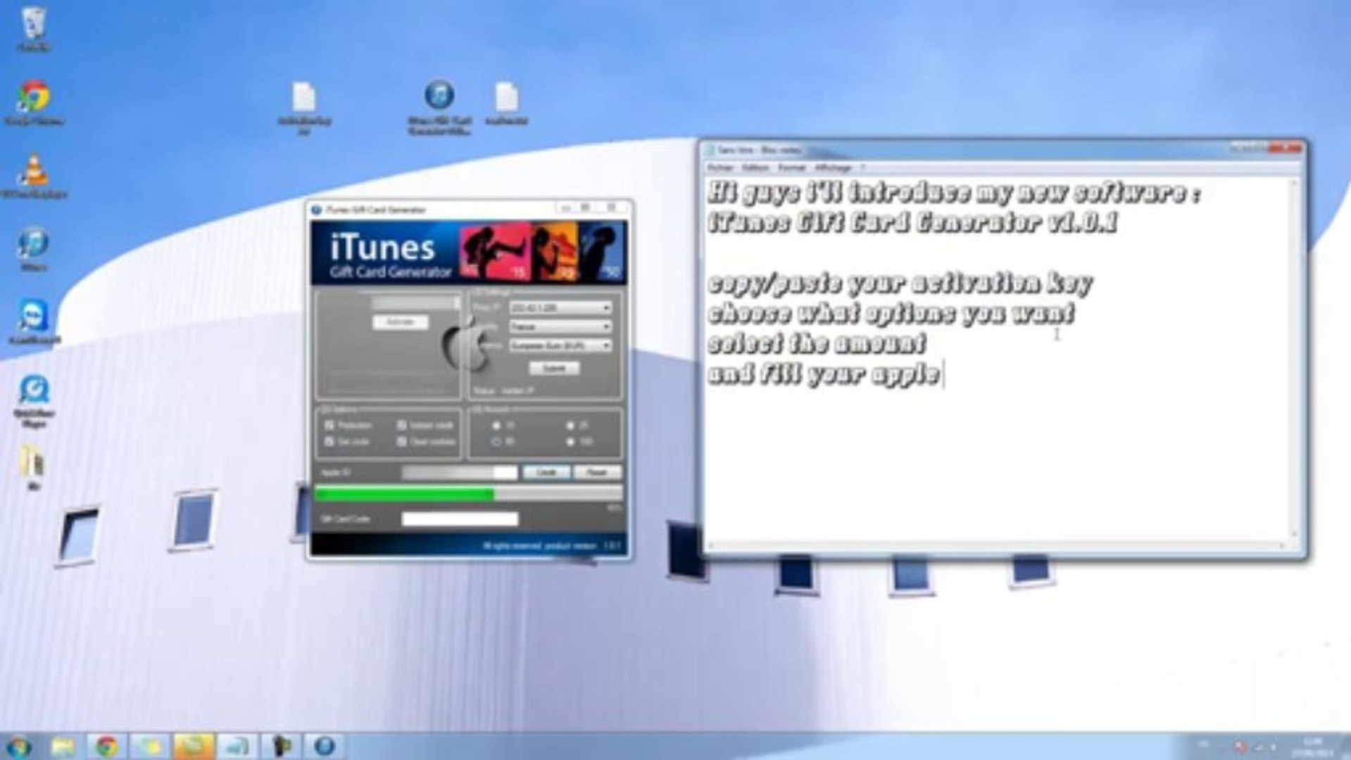 How To Get Free iTunes Gift Card Codes 2013 - iTunes Gift Card Generator 2013 Updated (AUGUST 2013)