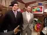 WWE SummerSlam 2007 - Funny Segment With Vince McMahon, Jonathan Coachman, Teddy Long, William Regal, Cryme Tyme & Ron Simmons Segment