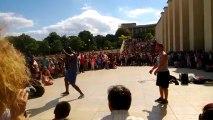 spectacle danse au trocadero ( partie 2: spectacle comique danse)