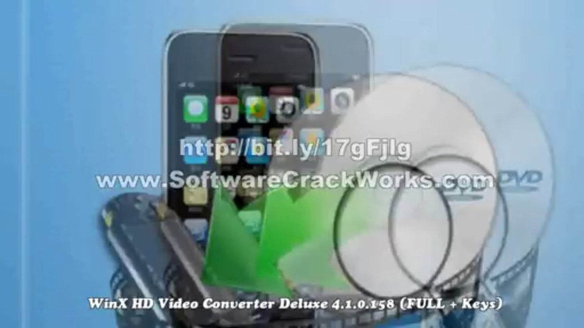 WinX HD Video Converter Deluxe 4 1 0 158 (FULL + Keys)