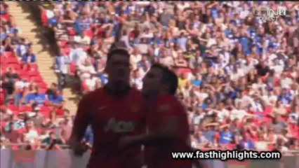 Manchester United 2-0 Wigan (Community Shield) Highlights