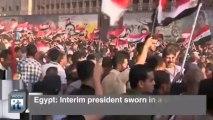 Mohamed Morsi Breaking News: Egypt: Interim President Sworn in Amid Crackdown