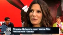 Awards and Events News Pop: Clooney, Bullock to Open Venice Film Festival With 'Gravity'