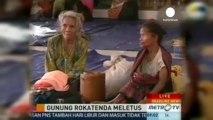 Endonezya'da yanardağ patladı: 6 ölü