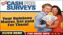 get cash for surveys money back +  get cash for surveys gary mitchell review