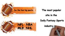 Top Daily Fantasy Football Sites - Looking for the top Daily Fantasy Football sites offering daily and weekly games for the four big sports: NFL, NBA, MLB and NHL?