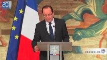 Zapping : tous les voeux de Hollande en un discours