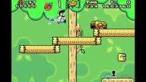 Soluce Super Mario World - Forêt Illusoire 1 : Accès Manoir Forêt