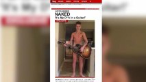 Justin Bieber Naked With Guitar in Leaked Photos