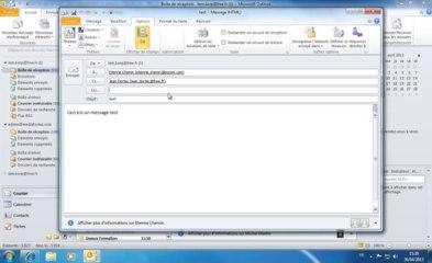 Outlook | Créer un nouveau courrier