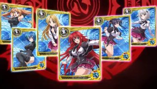 High School DxD Publicite