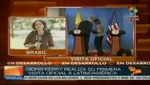 En medio de controversias John Kerry inicia gira en Brasil