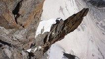 Pilier Gervasutti Mont-Blanc du Tacul Chamonix alpinisme