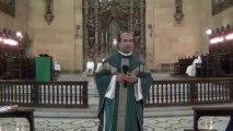 19º DOMINGO DO TEMPO COMUM. ANOC Homilia do Frei Petrônio.