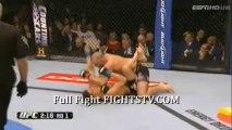 Lauzon vs Johnson fight video